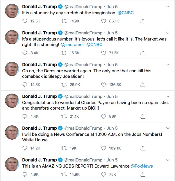 Screen-Shot-2020-06-06-at-9.12.10-AM Trump Caught Faking Job Numbers After 'Misclassifications' Discovered Donald Trump Economy Featured Politics Poverty Top Stories