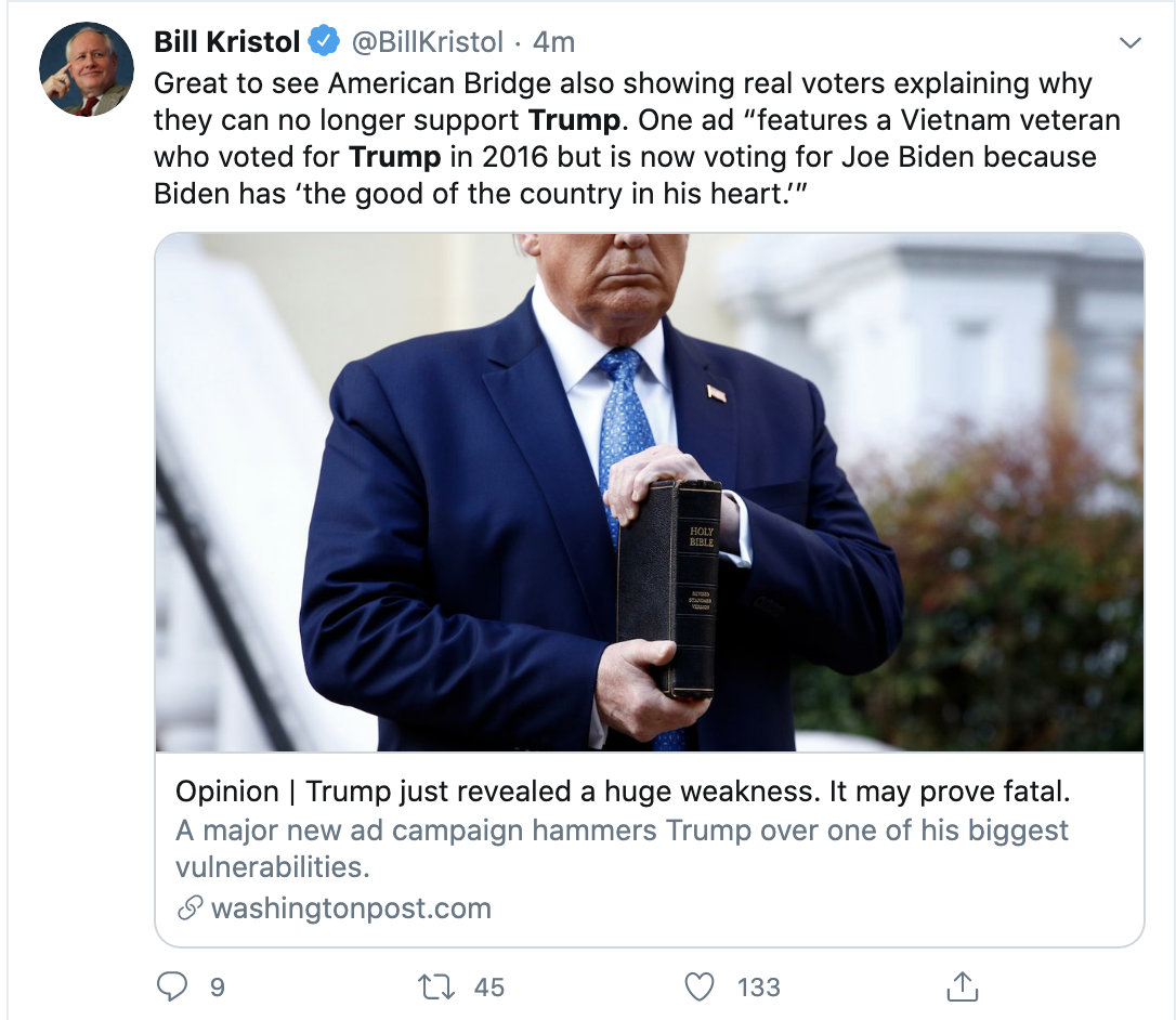 Screen-Shot-2020-06-09-at-7.27.48-AM Trump Sees Morning Polls & Erupts Into Unhinged 6-Tweet Meltdown Election 2020 Featured Police Misconduct Politics Top Stories