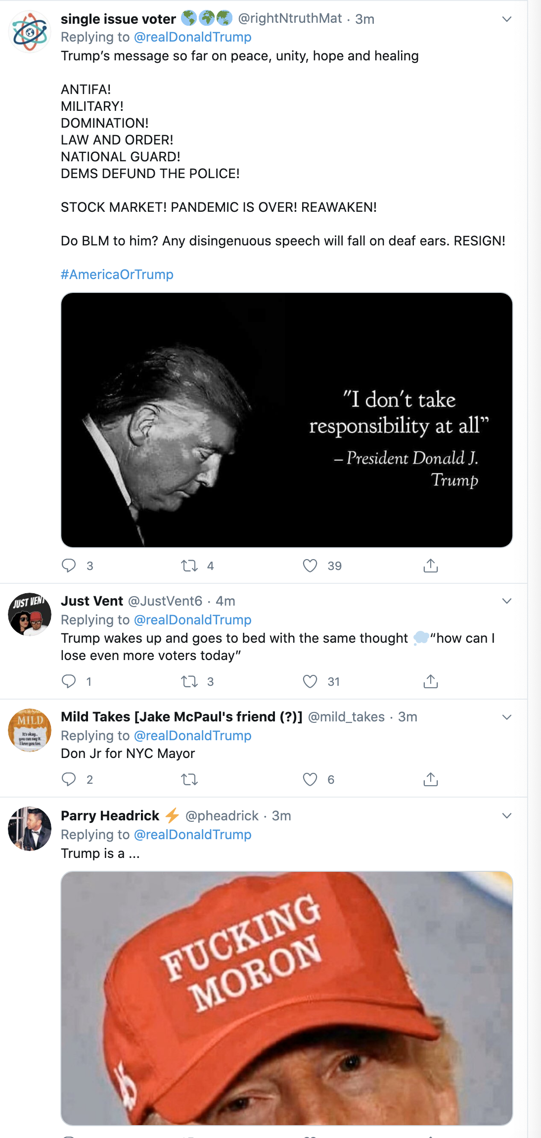 Screen-Shot-2020-06-10-at-7.54.03-AM Trump Wakes Up, Wigs Out, & Brags About Rich People Getting Richer Economy Election 2020 Politics Top Stories