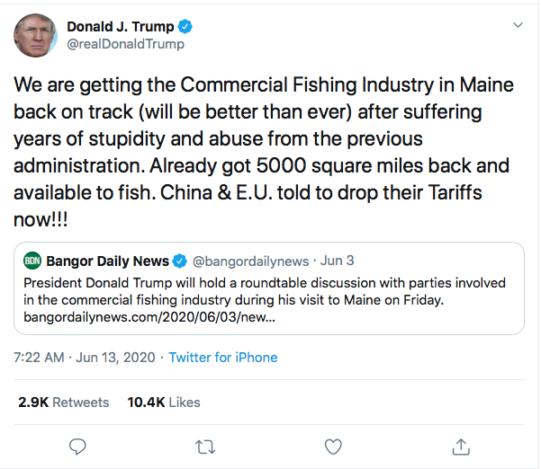 Screen-Shot-2020-06-13-at-8.06.45-AM Trump Calls Obama 'Abusive' During Early Morning 8-Tweet Meltdown Donald Trump Featured Politics Top Stories Twitter