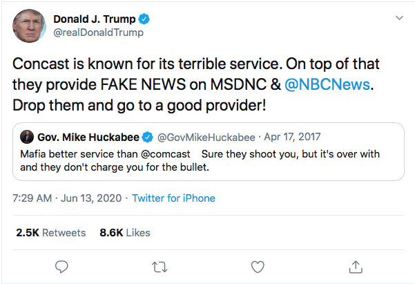 Screen-Shot-2020-06-13-at-8.07.14-AM Trump Calls Obama 'Abusive' During Early Morning 8-Tweet Meltdown Donald Trump Featured Politics Top Stories Twitter