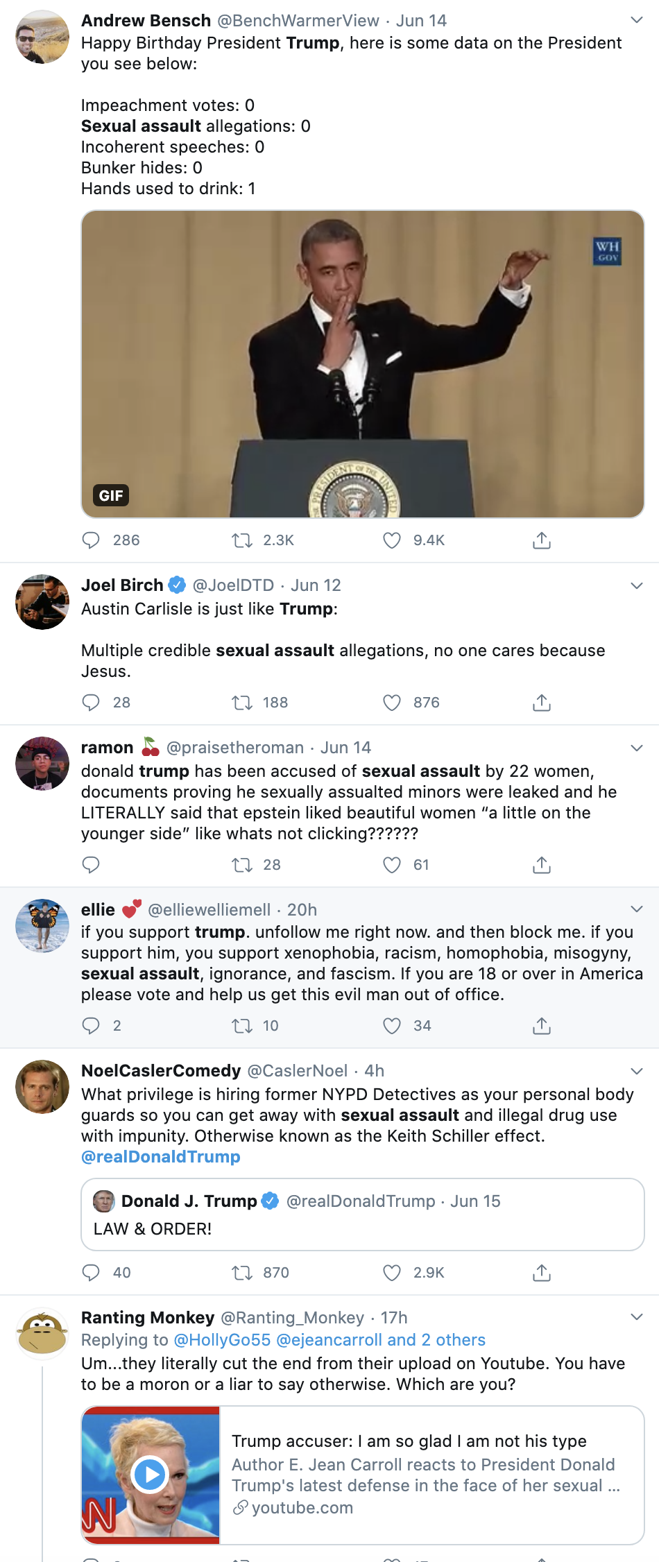 Screen-Shot-2020-06-16-at-1.13.49-PM Journalist Declares Trump Sexually Abused Her & Demands Justice Corruption Featured Feminism Sexual Assault/Rape Top Stories