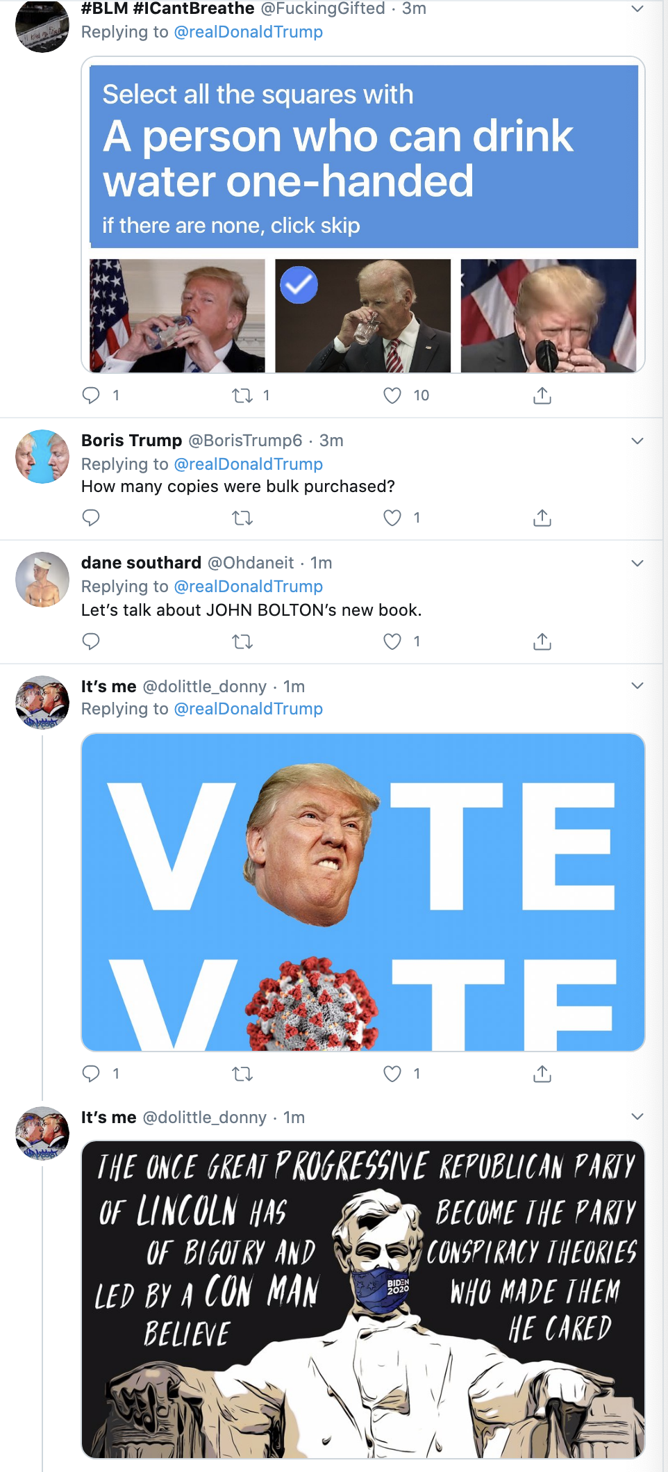 Screen-Shot-2020-06-18-at-7.49.44-AM Trump Suffers Pre-Dawn John Bolton Induced Multi-Tweet Meltdown Election 2020 Featured Impeachment Politics Top Stories
