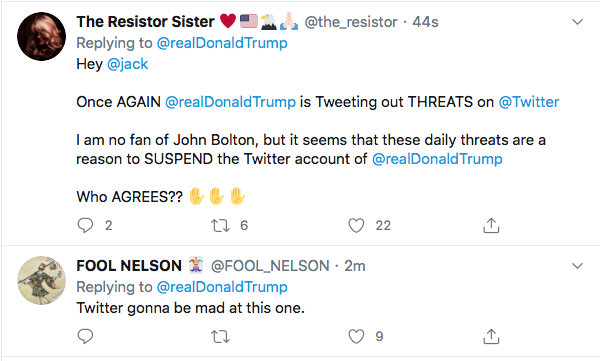 Screen-Shot-2020-06-20-at-11.48.24-AM Trump Threatens Violence Against Bolton During Mid-Morning Freak-Out Donald Trump Featured Politics Top Stories