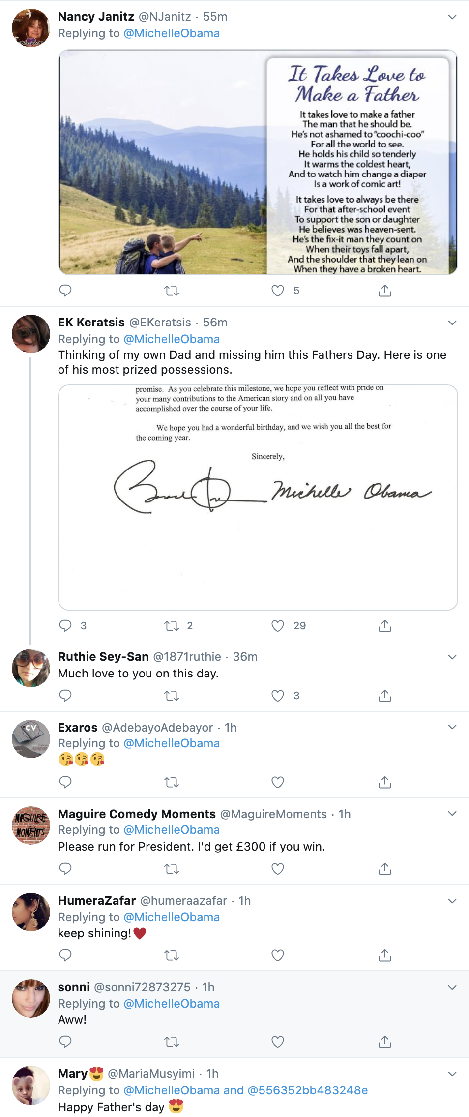 Screen-Shot-2020-06-21-at-10.06.49-AM Michelle Wishes Barack 'Happy Fathers Day' Like A Graceful First Lady Black Lives Matter Featured Politics Top Stories Women's Rights