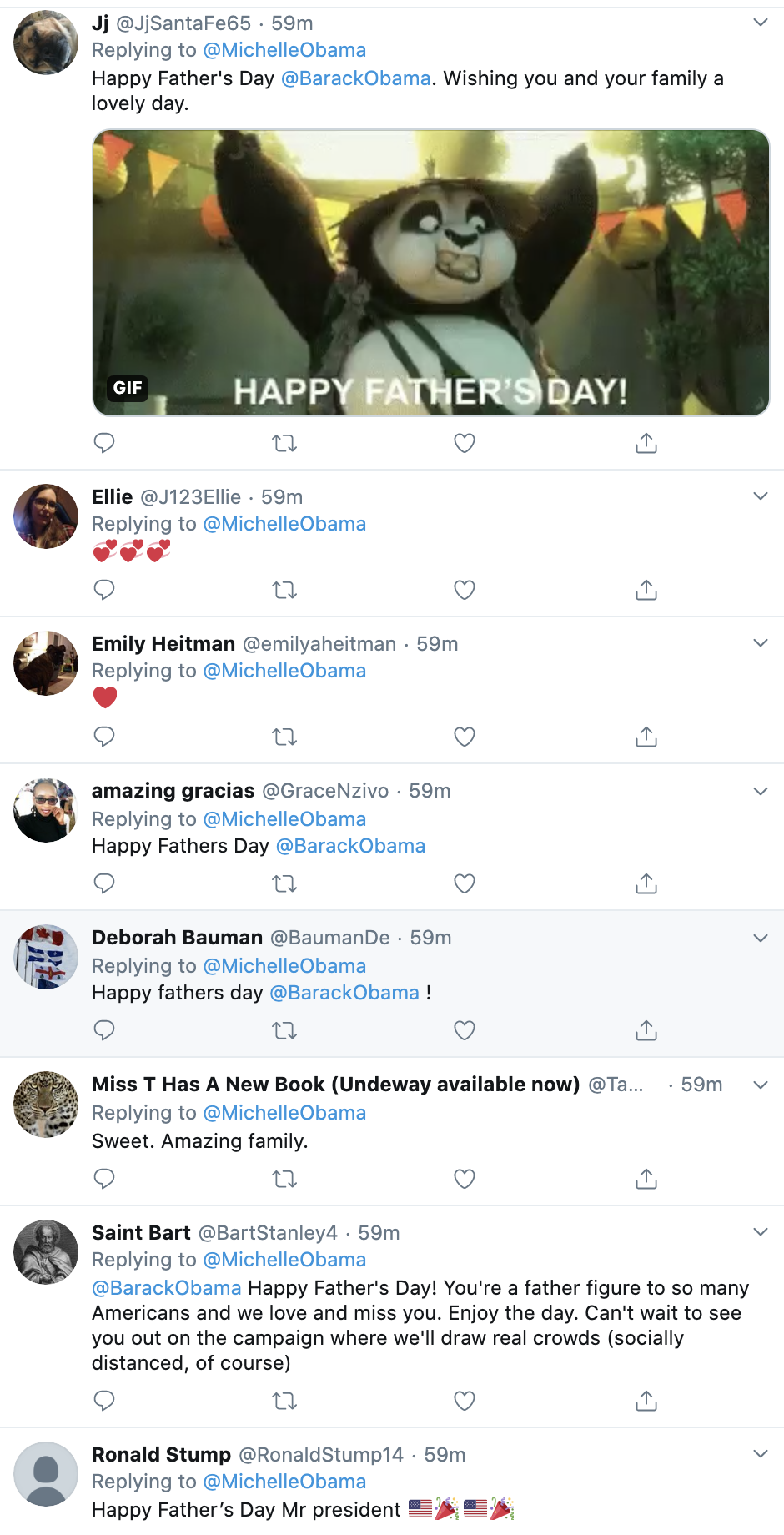 Screen-Shot-2020-06-21-at-10.07.53-AM Michelle Wishes Barack 'Happy Fathers Day' Like A Graceful First Lady Black Lives Matter Featured Politics Top Stories Women's Rights