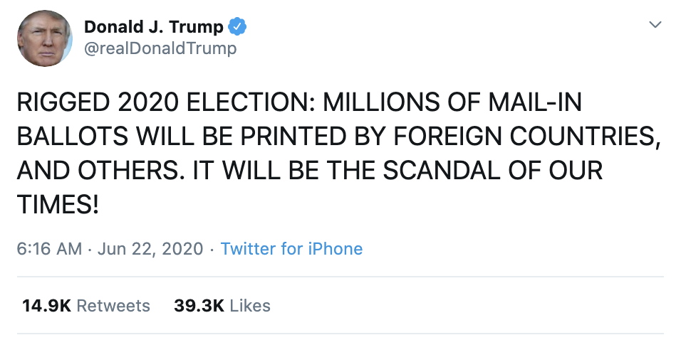 Screen-Shot-2020-06-22-at-7.02.55-AM Trump Screams 'Rigged Election' During Pre-Dawn Emotional Collapse Corruption Election 2020 Featured Politics Top Stories