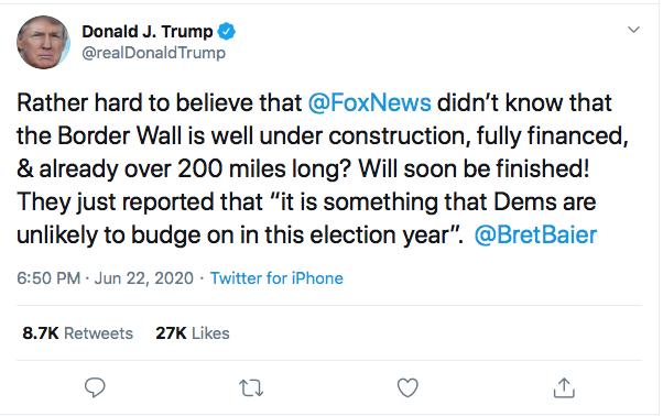 Screen-Shot-2020-06-22-at-7.41.18-PM Fox News Host Burns Trump In Response To Monday Rage Tweet Donald Trump Featured Politics Top Stories Twitter
