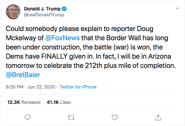 Screen-Shot-2020-06-22-at-7.41.34-PM Fox News Host Burns Trump In Response To Monday Rage Tweet Donald Trump Featured Politics Top Stories Twitter