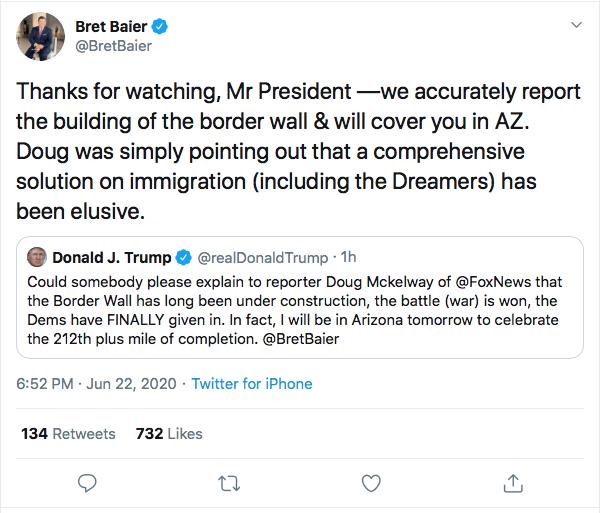 Screen-Shot-2020-06-22-at-8.09.05-PM Fox News Host Burns Trump In Response To Monday Rage Tweet Donald Trump Featured Politics Top Stories Twitter