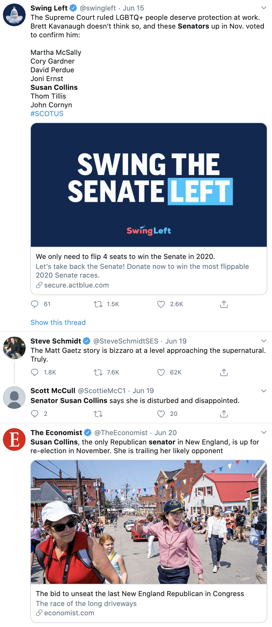 Screen-Shot-2020-06-23-at-9.57.39-AM Susan Collins Makes Dramatic Turn Against GOP To Join Democrats With Vote Election 2020 Featured Politics Supreme Court Top Stories