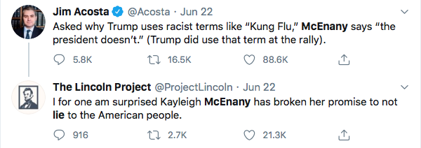 Screen-Shot-2020-06-25-at-1.50.54-PM Kayleigh McEnany's Former Teacher Trolls Her Over Life Choices Donald Trump Featured Politics Religion Top Stories