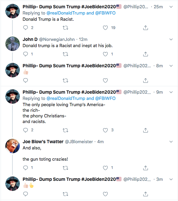 Screen-Shot-2020-06-26-at-1.43.54-PM Trump Tweets Wanted Protestor Poster Like A Deranged Sheriff Of The Wild West Black Lives Matter Donald Trump Election 2020 Featured Politics Racism Top Stories Twitter