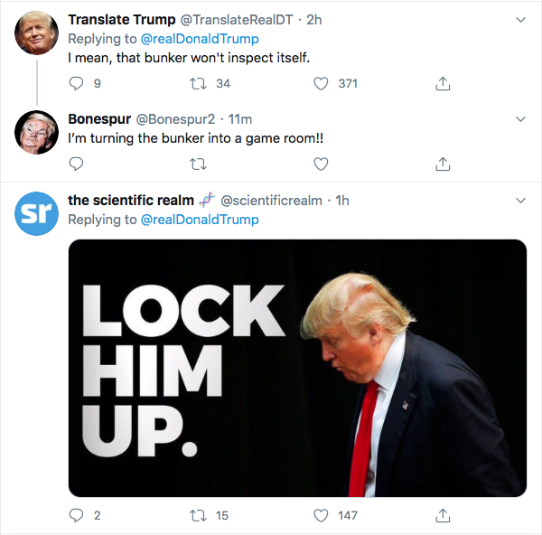 Screen-Shot-2020-06-26-at-7.38.51-PM Trump Launches Friday Night Twitter Binge Against Black Lives Matter Protesters Donald Trump Election 2020 Featured Politics Top Stories Twitter