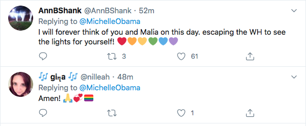 Screen-Shot-2020-06-26-at-7.56.18-PM Michelle Obama Tweets Inspirational Weekend Message Of Hope Featured Human Rights LGBT Michelle Obama Politics Top Stories Twitter