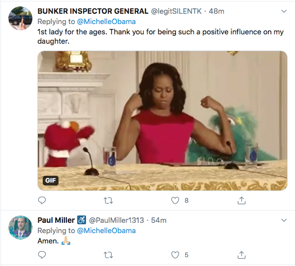 Screen-Shot-2020-06-26-at-7.57.18-PM Michelle Obama Tweets Inspirational Weekend Message Of Hope Featured Human Rights LGBT Michelle Obama Politics Top Stories Twitter