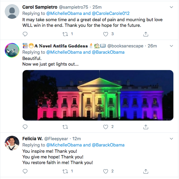 Screen-Shot-2020-06-26-at-7.57.51-PM Michelle Obama Tweets Inspirational Weekend Message Of Hope Featured Human Rights LGBT Michelle Obama Politics Top Stories Twitter