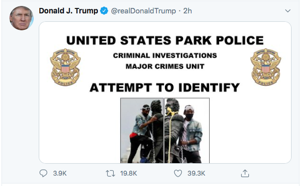 Screen-Shot-2020-06-27-at-8.46.44-PM Trump Finishes Saturday With 16-Tweet Eruption Of Insanity Black Lives Matter Donald Trump Election 2020 Featured Politics Top Stories Twitter