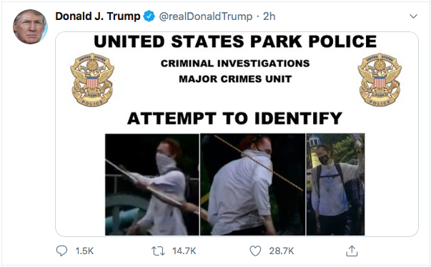Screen-Shot-2020-06-27-at-8.47.27-PM Trump Finishes Saturday With 16-Tweet Eruption Of Insanity Black Lives Matter Donald Trump Election 2020 Featured Politics Top Stories Twitter