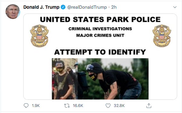 Screen-Shot-2020-06-27-at-8.48.13-PM Trump Finishes Saturday With 16-Tweet Eruption Of Insanity Black Lives Matter Donald Trump Election 2020 Featured Politics Top Stories Twitter