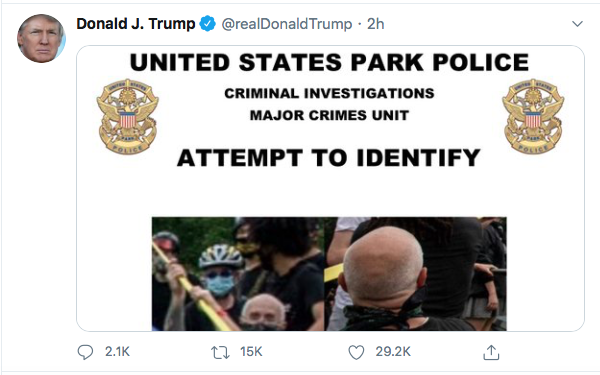 Screen-Shot-2020-06-27-at-8.48.33-PM Trump Finishes Saturday With 16-Tweet Eruption Of Insanity Black Lives Matter Donald Trump Election 2020 Featured Politics Top Stories Twitter