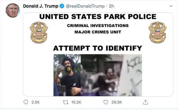 Screen-Shot-2020-06-27-at-8.48.43-PM Trump Finishes Saturday With 16-Tweet Eruption Of Insanity Black Lives Matter Donald Trump Election 2020 Featured Politics Top Stories Twitter