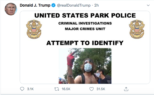Screen-Shot-2020-06-27-at-8.48.52-PM Trump Finishes Saturday With 16-Tweet Eruption Of Insanity Black Lives Matter Donald Trump Election 2020 Featured Politics Top Stories Twitter
