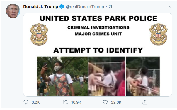 Screen-Shot-2020-06-27-at-8.49.03-PM Trump Finishes Saturday With 16-Tweet Eruption Of Insanity Black Lives Matter Donald Trump Election 2020 Featured Politics Top Stories Twitter
