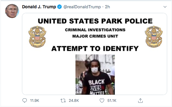 Screen-Shot-2020-06-27-at-8.49.12-PM Trump Finishes Saturday With 16-Tweet Eruption Of Insanity Black Lives Matter Donald Trump Election 2020 Featured Politics Top Stories Twitter