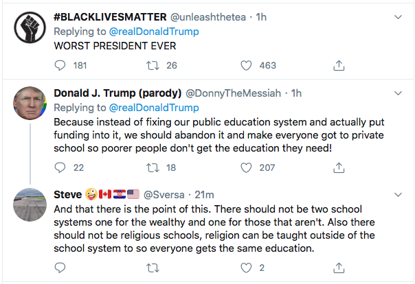 Screen-Shot-2020-06-30-at-8.34.14-PM Trump Launches Tuesday Night Twitter Binge After Day Of Failure Black Lives Matter Coronavirus Donald Trump Election 2020 Featured Politics Racism Top Stories Twitter
