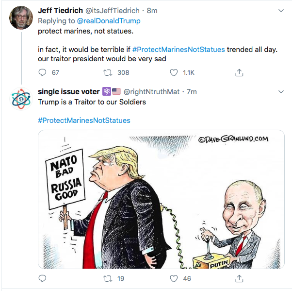 Screen-Shot-2020-06-30-at-9.35.58-AM Trump Announces Prison For Protestors During Tuesday AM Meltdown Donald Trump Election 2020 Featured Politics Protest Top Stories Twitter