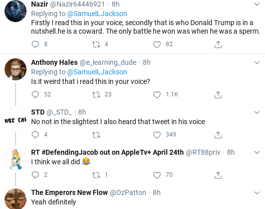 "Screenshot-2020-06-01-at-1.40.00-PM Samuel Jackson Humiliates ""Muthafukkah"" Trump For Hiding Like A Goon Celebrities Donald Trump Politics Social Media Top Stories"