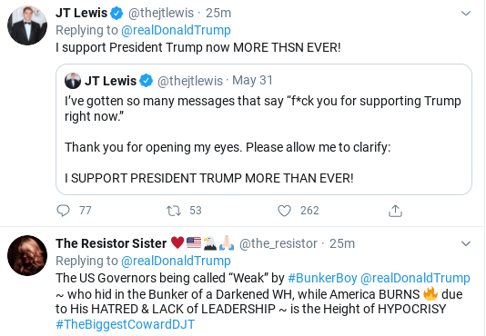Screenshot-2020-06-01-at-2.52.06-PM Trump Names New Enemies During Mid-Afternoon Meltdown Donald Trump Politics Social Media Top Stories