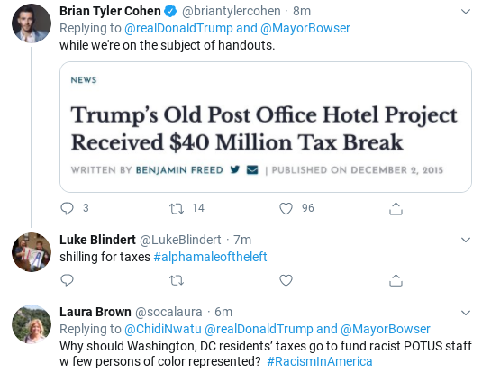 Screenshot-2020-06-05-at-2.34.26-PM Trump Threatens 'Incompetent' Black DC Mayor During Friday Freakout Donald Trump Politics Social Media Top Stories