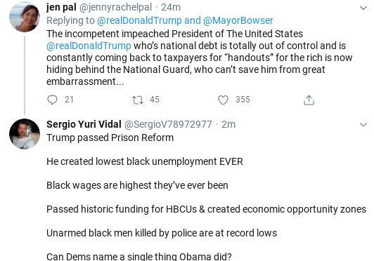 Screenshot-2020-06-05-at-2.35.33-PM Trump Threatens 'Incompetent' Black DC Mayor During Friday Freakout Donald Trump Politics Social Media Top Stories