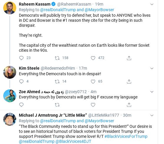 Screenshot-2020-06-05-at-2.36.10-PM Trump Threatens 'Incompetent' Black DC Mayor During Friday Freakout Donald Trump Politics Social Media Top Stories