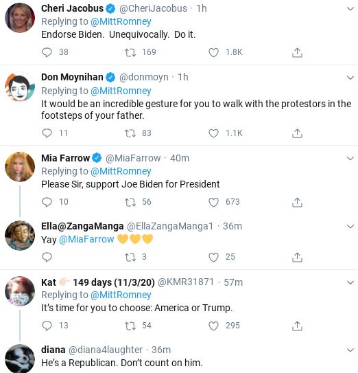 Screenshot-2020-06-06-at-11.50.40-AM Romney Shames Trump & GOP With Saturday Protest Support Message Donald Trump Politics Social Media Top Stories