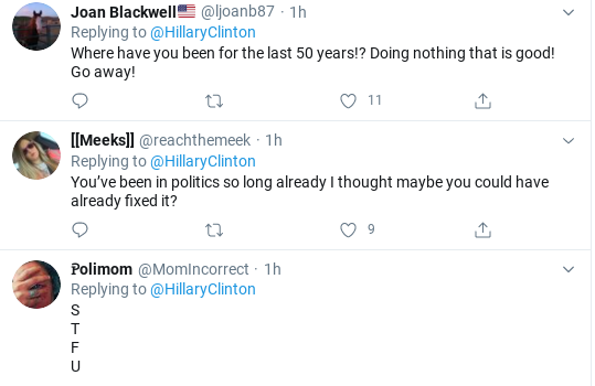 Screenshot-2020-06-06-at-3.50.24-PM Hillary Shows Up Trump With Saturday Protest Message To Voters Donald Trump Politics Racism Social Media Top Stories