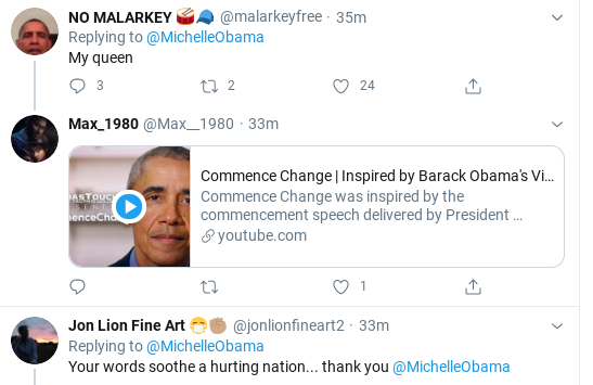Screenshot-2020-06-07-at-4.38.26-PM Michelle Obama Leads America With Sunday Message Of Hope Donald Trump Politics Social Media Top Stories