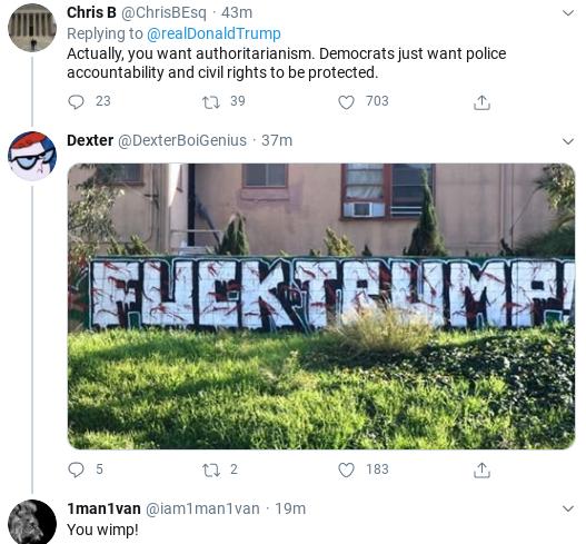 Screenshot-2020-06-08-at-12.29.24-PM Trump Calls Black Protestors 'Radical' During Mid-Morning Freakout Donald Trump Politics Social Media Top Stories
