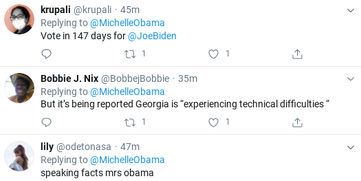 Screenshot-2020-06-09-at-2.11.14-PM Michelle Obama Terrifies GOP With Tuesday Voting Message Donald Trump Election 2020 Politics Social Media Top Stories