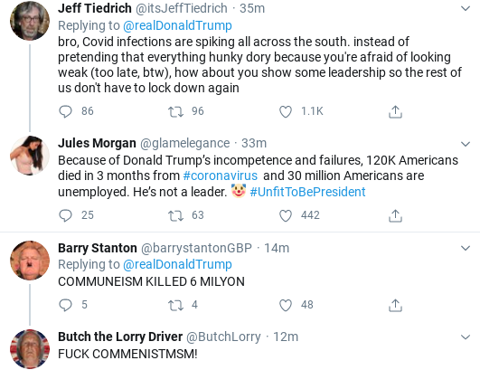 Screenshot-2020-06-22-at-11.10.52-AM Trump Goes Berserk On 'Radical Left' With 3rd Monday Eruption Of Insanity Donald Trump Foreign Policy Politics Social Media Top Stories
