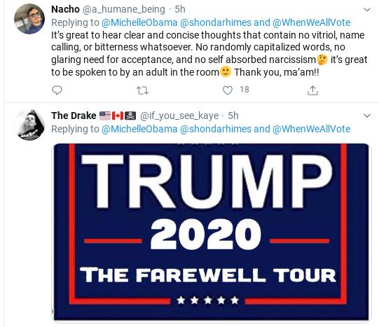 Screenshot-2020-06-22-at-7.14.09-PM Michelle Obama Tweets Voter Registration Declaration Donald Trump Politics Social Media Top Stories