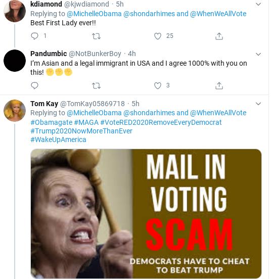 Screenshot-2020-06-22-at-7.14.20-PM Michelle Obama Tweets Voter Registration Declaration Donald Trump Politics Social Media Top Stories