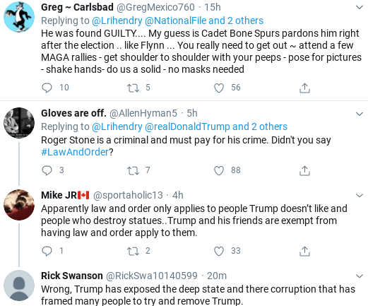 Screenshot-2020-06-27-at-1.24.18-PM Trump Tweets Hint Of Possible Roger Stone Pardon Corruption Donald Trump Politics Social Media Top Stories