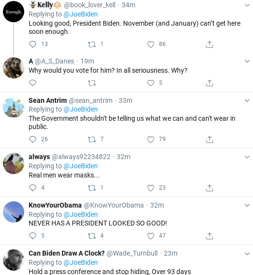 Screenshot-2020-06-27-at-2.03.12-PM Biden Trolls Mask Truthers During Saturday Twitter Take-Down Donald Trump Healthcare Politics Social Media Top Stories