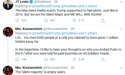Screenshot-2020-06-27-at-9.50.28-AM Trump Wakes Up & Rockets Into Pre-Dawn 'Fake Media!' Meltdown Donald Trump Politics Social Media Top Stories