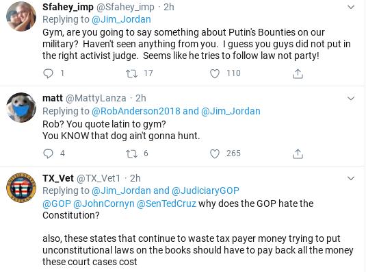 Screenshot-2020-06-29-at-12.45.25-PM Jim Jordan Snarls Hysterics At Justice John Roberts Like A Lunatic Abortion Donald Trump Politics Social Media Supreme Court Top Stories