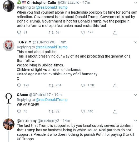 Screenshot-2020-06-30-at-11.09.33-AM Trump Yells 'THE LONE WARRIOR!' During Unhinged Tuesday Freak-Out Donald Trump Politics Social Media Top Stories