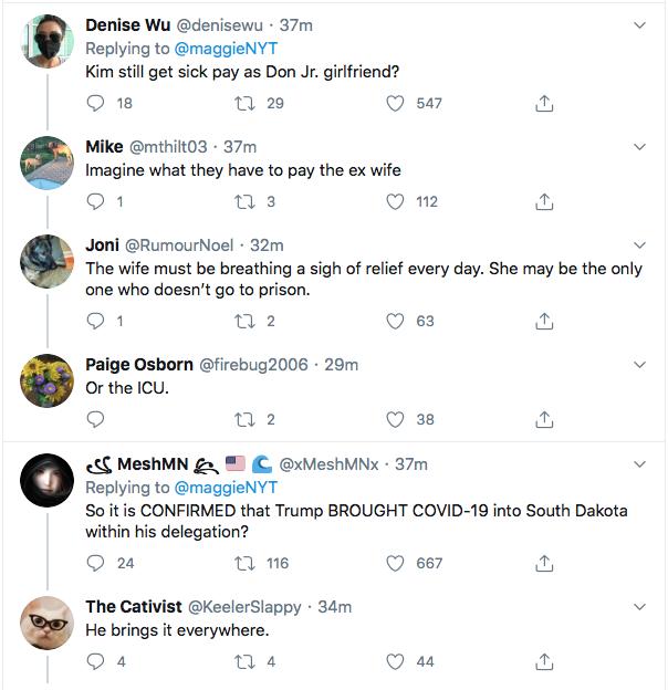 Screen-Shot-2020-07-03-at-10.46.52-PM Trump Jr's Girlfriend Tests Positive For COVID-19 Coronavirus Donald Trump Election 2020 Featured Politics Top Stories